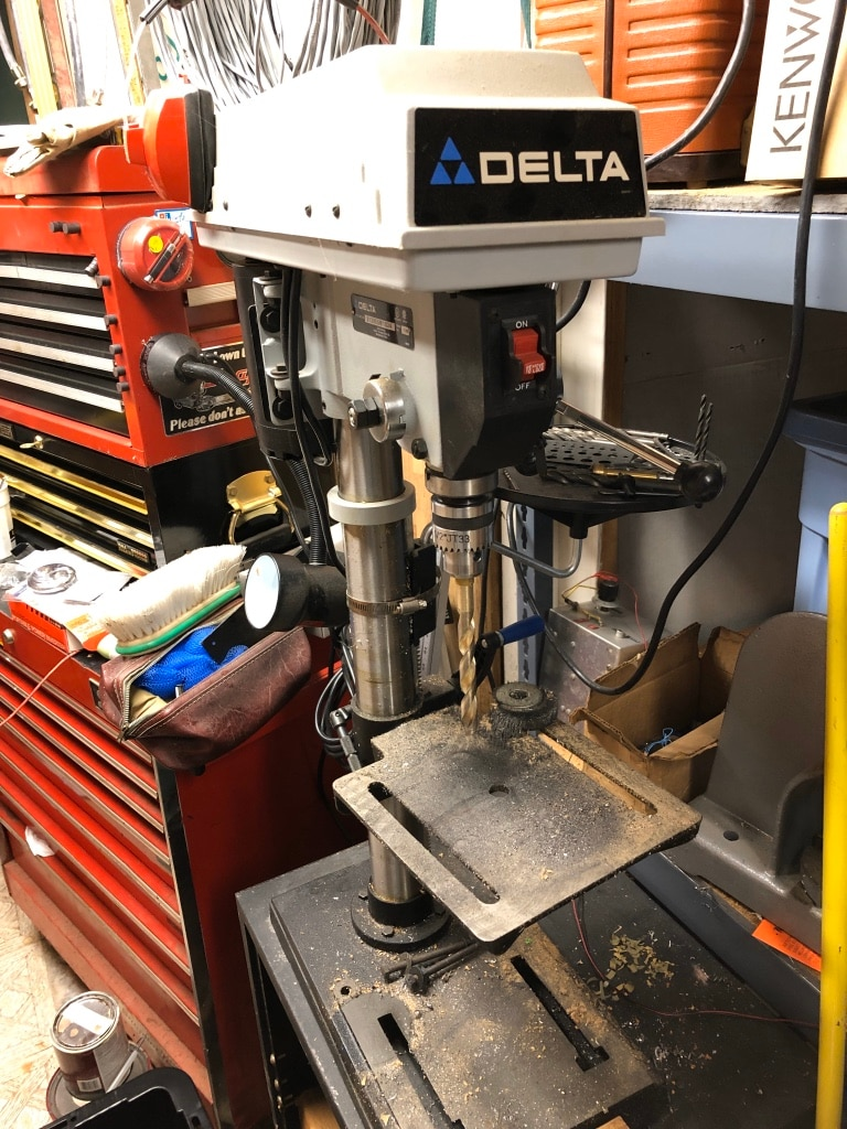Photo Delta benchtop drill press
