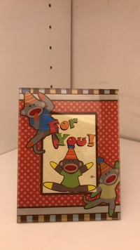 Sock Monkey Picture Frame!