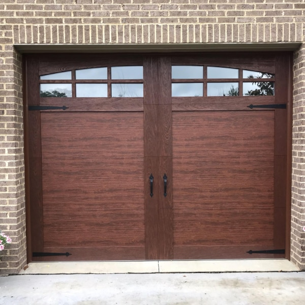 Used Clopay Carriage Style Garage Door For In Pittsburgh Letgo