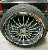 4x 19' rims & tires. 1 tire is bad Henderson, 89044