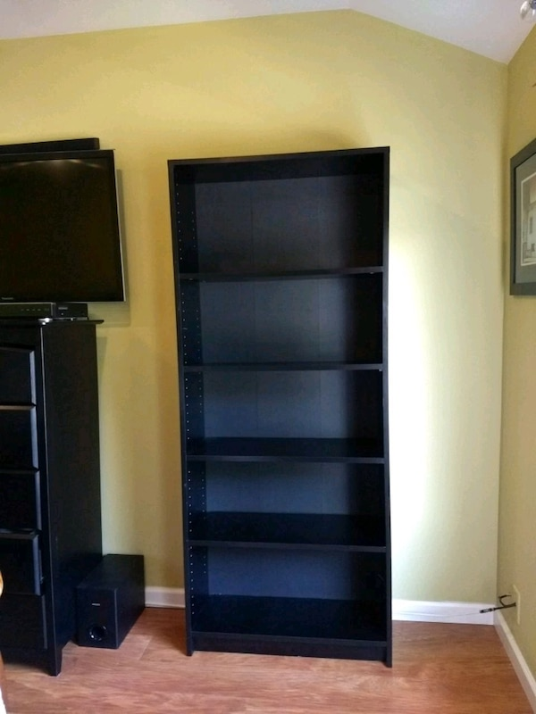 Black Bookshelf 6 Ft Tall By 3