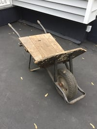 Handy wheel barrow.  The wheel is in excellent condition. Toronto, M8V 2H8