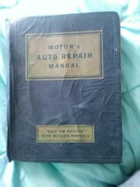 Auto repair manuel 1935 - mid 1950's early 60's Pawtucket, 02860