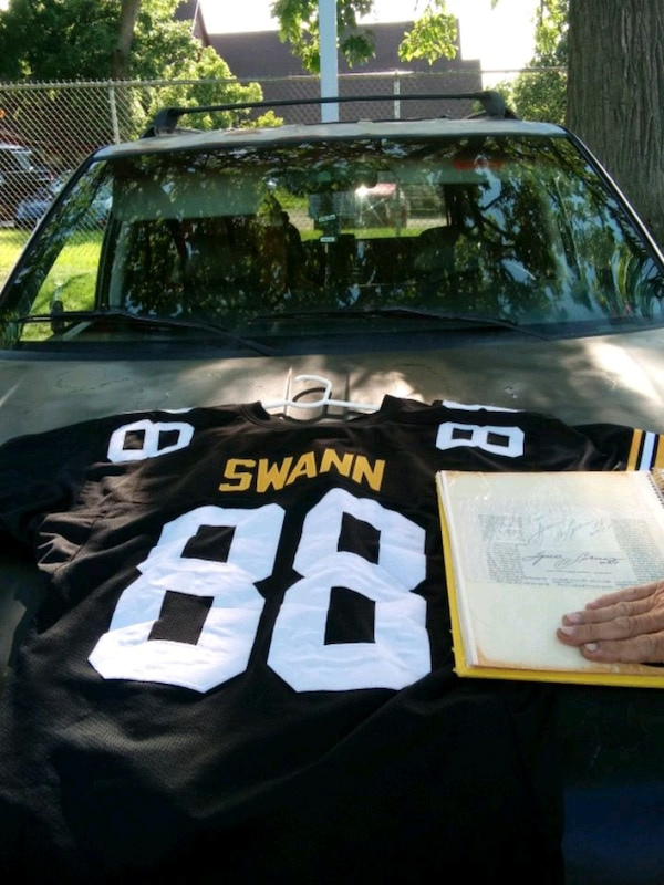 reputable site 55911 8ee84 Lynn Swann jersey (XL) & outograph. 100% real outo