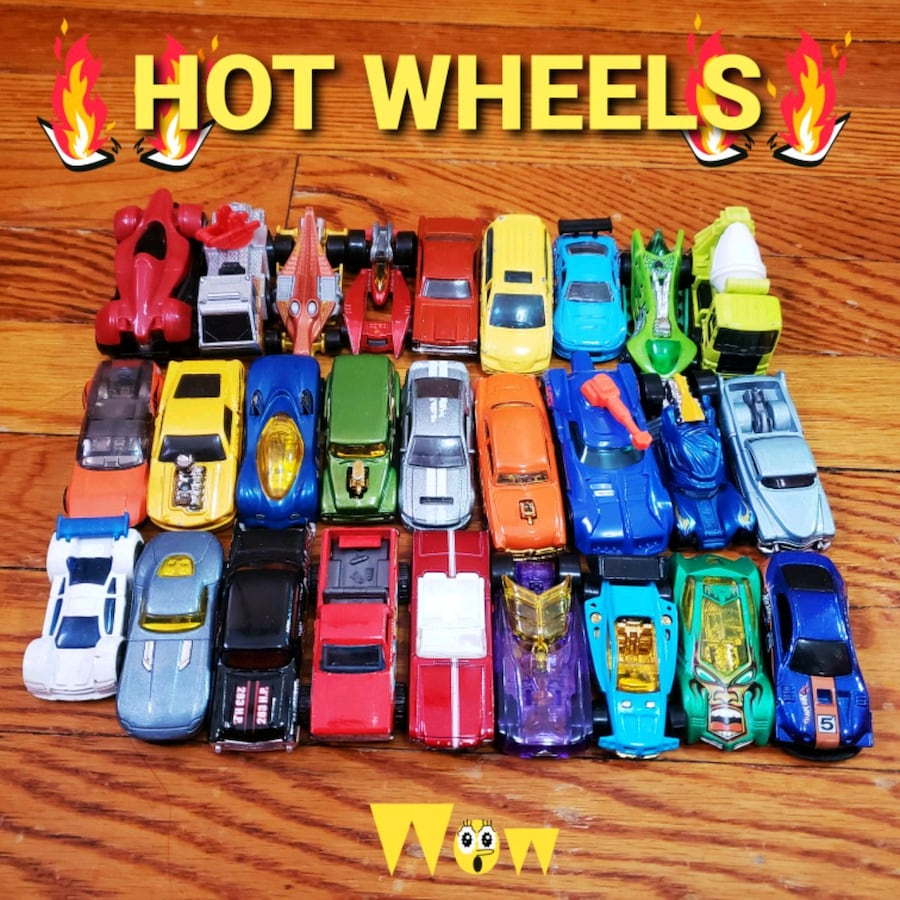 HOT WHEELS CARS COLLECTION
