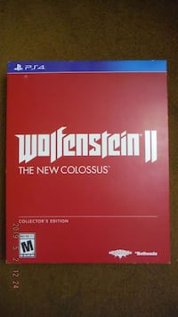 Wolfenstein 2 - New Colossus Collector's Edition - PS4 ($60)