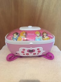Disney Princess CD/Auxiliary player