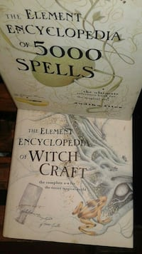 two The Element Encyclopedia books