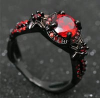 black and red beaded bracelet Washington, 20011