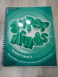 Super Minds Teachers Book 3