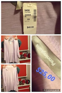 Women's white long-sleeved dress collage Montreal