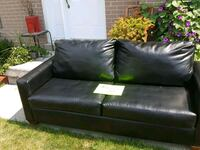Faux Leather Couch  Quinte West, K8V 2N2