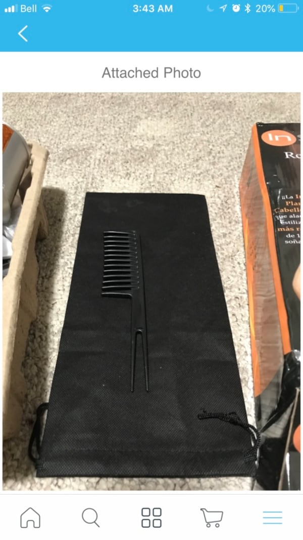 HAIR CURLER AND STRAIGHTNER ONLY USED ONCE 233a0370-f45c-418f-917f-d0e12a0ed552