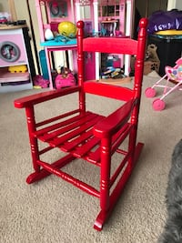 Kids Red Rocking Chair in excellent condition  33 km