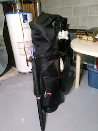Ladies right  handed golf clubs.