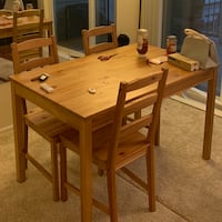IKEA dining set (table+4 chairs) Mc Lean, 22102