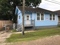 HOUSE For sale 3BR;1BA; kitchen; living room and utility room. New Orleans