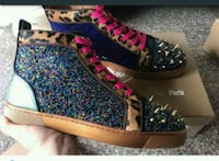 pair of multicolored floral high-top sneakers Orlando, 32808