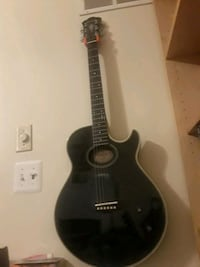 black and brown acoustic guitar Severn, 21144