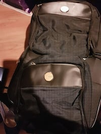 Black suitcase with toiletries bags!  Pickering, L1W