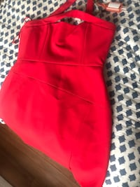 BCBG Red dress size 12 Laval, H7W 1H9