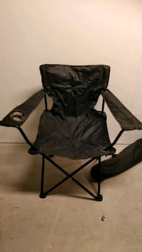 Black foldable chair Häggvik, 191 64