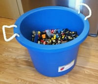 Giant blue bin of Lego all made by Lego  Barrie, L4M 3J4