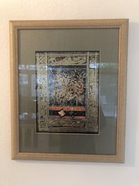 Contemporary Abstract Gold Foil And Mixed Media Art Print (1020252) South San Francisco