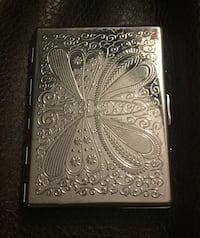 Rare Butterfly Cigarette/Credit Card Holder
