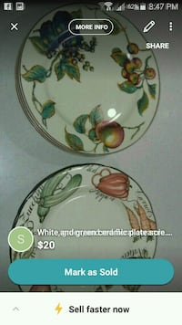 white and green ceramic plate screenshot