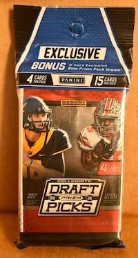 Unopened sports cards multiple packs available