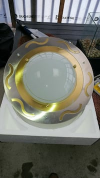 round white and beige dome lamp Laval, H7J 1A2