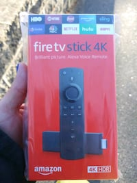 black Amazon Fire TV Stick box Everett, 02149