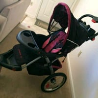 baby's black and red stroller Vancouver, 98663