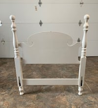 White Headboard for Twin Bed Annapolis