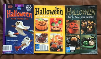 3 x Halloween Baking booklets