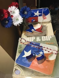 Texas Red, White & Blue Party Items