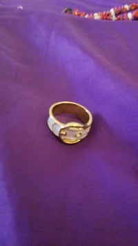 White and gold size 8 ring for sale York, 17404