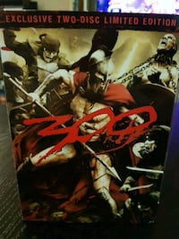 300 collectors dvd and helmet