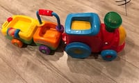 Fisher price activity light and sound  train toy