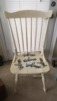 "Decorative Chair ""Welcome"" Alexandria, 22315"