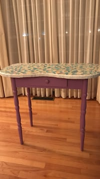 Purple mosaic vanity table  Geneva, 60134