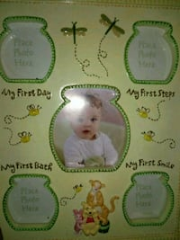 Brand new Pooh Bear frame baby's first time Troy, 12182