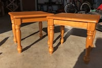 Wood end tables (2) Spring Hill, 34608