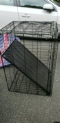 black metal folding dog crate Potomac, 20854