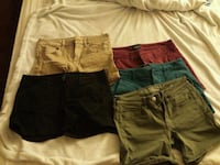 shorts american eagle size 6 one size 4 all for$10