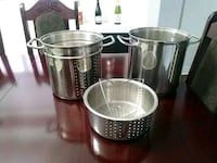 Stainless. Steel 3 Piece Pasta and Vegetable cooker BEST OFFER Vaughan, L4L 2C5