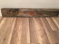 Hello fall reclaimed wood sign Pinellas Park, 33781