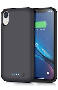 iPhone XR battery phone case