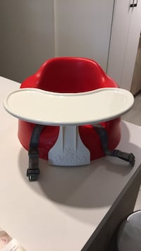red and white high chair Montréal, H1H 1Z6
